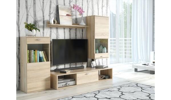 Meuble TV pas cher- 4 Pièces