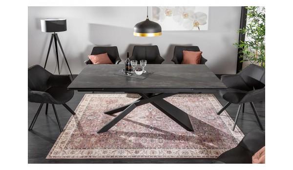 Table design 180-220-260 lave céramique