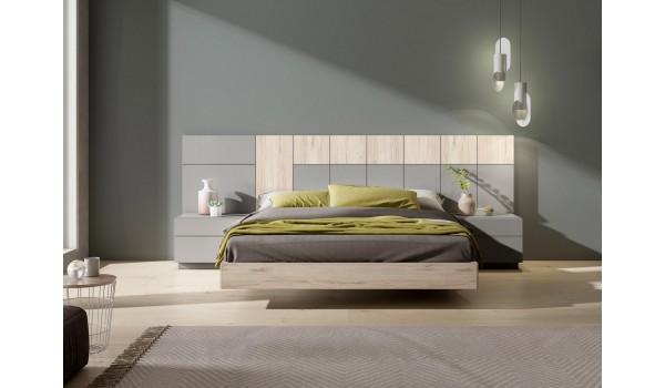 Lit design 160x200 / Chevets & tête de lit