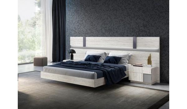 Lit contemporain - Chevets & tête de lit Led design