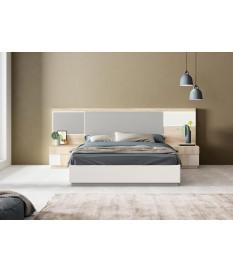 Lit avec rangement / Chevets & tête de lit avec lumière