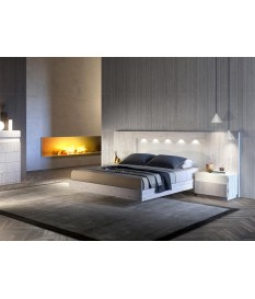 Lit adulte 160x200 - Chevets & tête de lit Led
