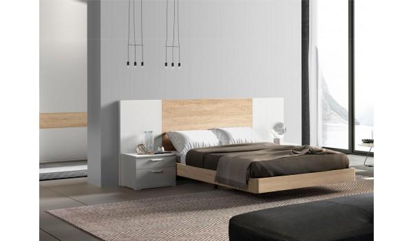 Lit moderne en bois - Chevets & tête de lit