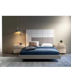 Lit moderne avec chevets & tête de lit