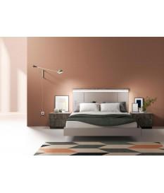 Lit design 160 x 200 cm avec éclairage Led