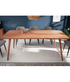 Table de salle à manger bois design / 160 cm