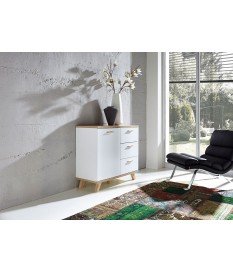 Meuble commode moderne blanche scandinave