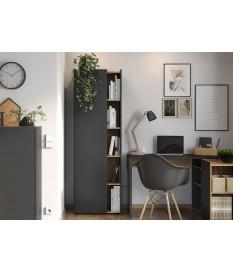 Armoire haute, une porte et ouverture pour dossier de bureau