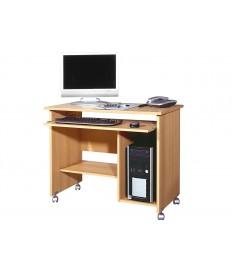Bureau compact avec rangement intégré