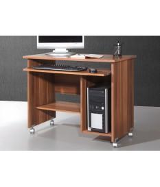 Bureau compact avec rangement intégré chêne sonoma
