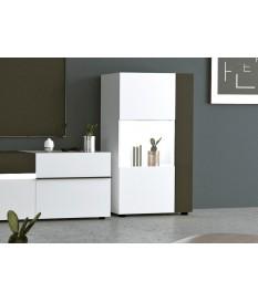 meuble déco et meuble rangement avec éclairage led intégré