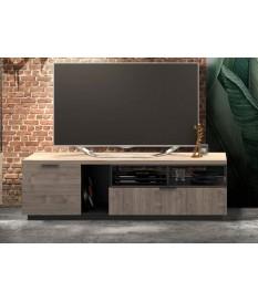 Meuble TV style industriel 180 cm