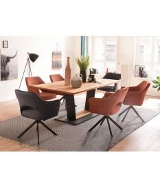 Table à manger design rectangulaire 160 - 180 - 200 cm