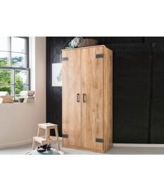 Armoire de chambre 2 portes ado