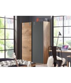 Armoire de chambre 2 portes coulissantes