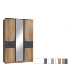 Armoire 5 portes - Lingère / Dressing / Tiroirs