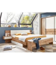 Lit de chambre à coucher adulte 160x200cm
