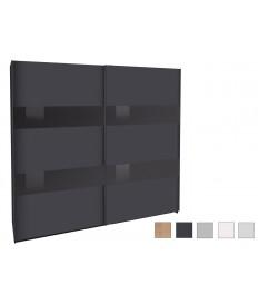 Armoire portes coulissantes 225 cm - Dressing / Rangement