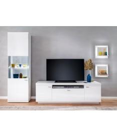 Meuble TV bas / Vitrine & étagères design
