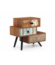 Petit meuble de rangement décalé vintage