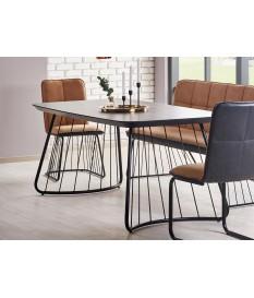 Table à manger design pas cher L-180 cm