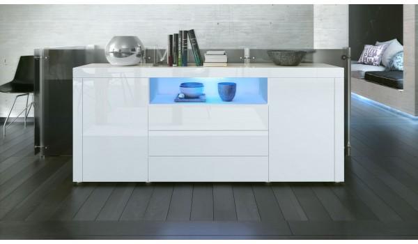 buffet de salon design 12 finitions moderne aux choix pour. Black Bedroom Furniture Sets. Home Design Ideas