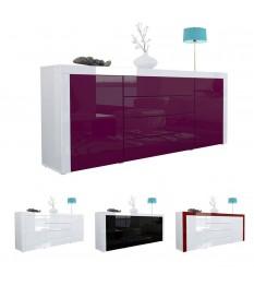 Buffet de Salon Design Laqué / 10 Finitions de couleurs Moderne