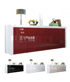 Buffet Laqué 10 Finitions Moderne / 4 portes 2 tiroirs