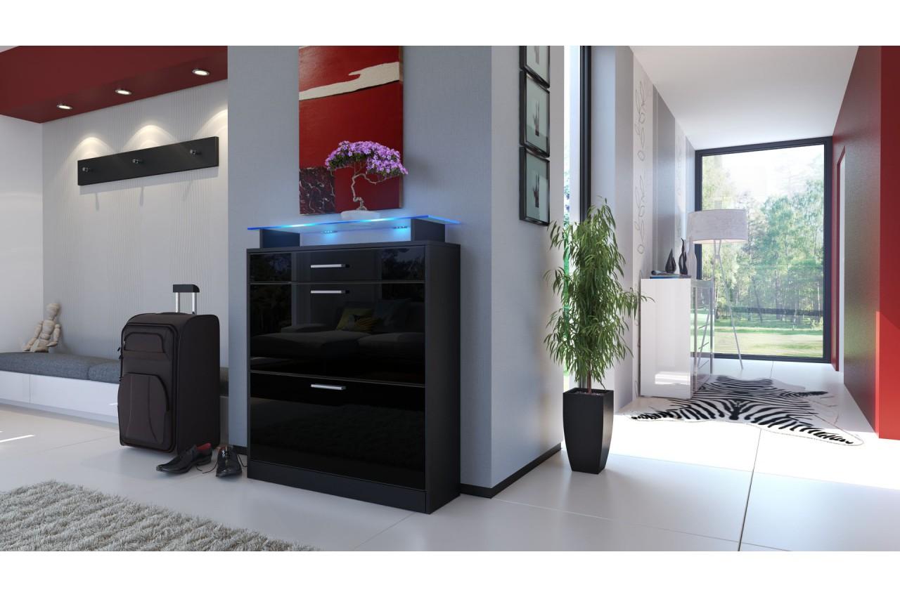 meuble chaussures design pour meuble entr e. Black Bedroom Furniture Sets. Home Design Ideas