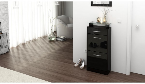 petit meuble range chaussures design novomeuble. Black Bedroom Furniture Sets. Home Design Ideas