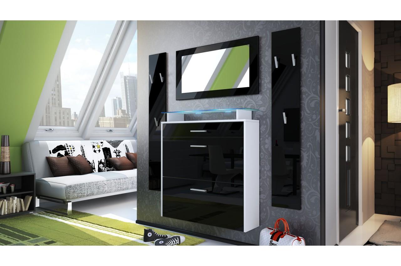 meuble chaussures suspendu et porte manteaux novomeuble. Black Bedroom Furniture Sets. Home Design Ideas