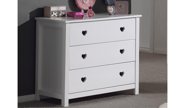 commode de chambre coucher fille novomeuble. Black Bedroom Furniture Sets. Home Design Ideas