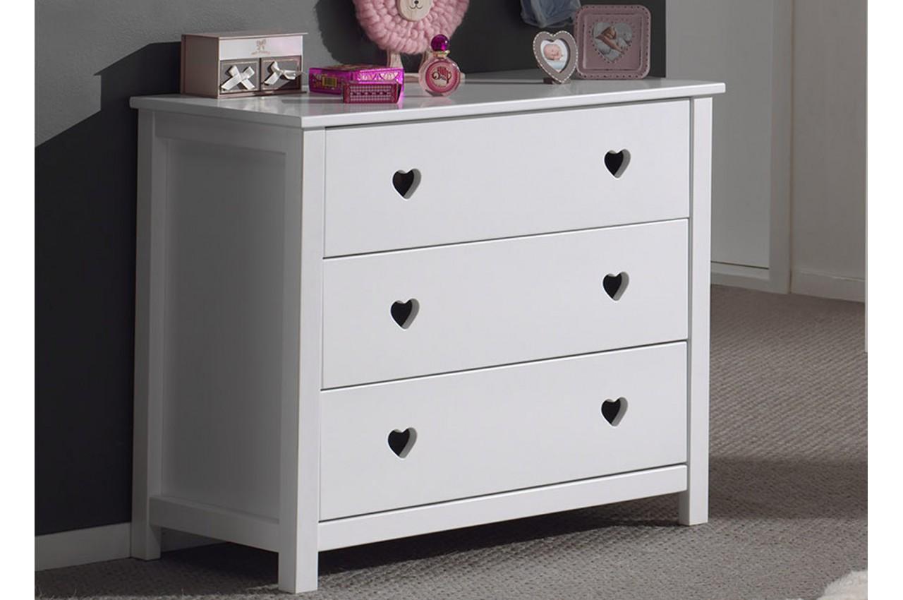 commode de chambre coucher fille novomeuble. Black Bedroom Furniture Sets. Home Design Ideas