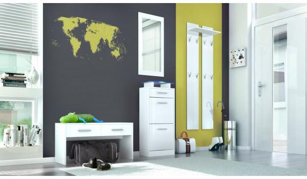 Entree Moderne meuble d'entrée moderne pour rangement entrée