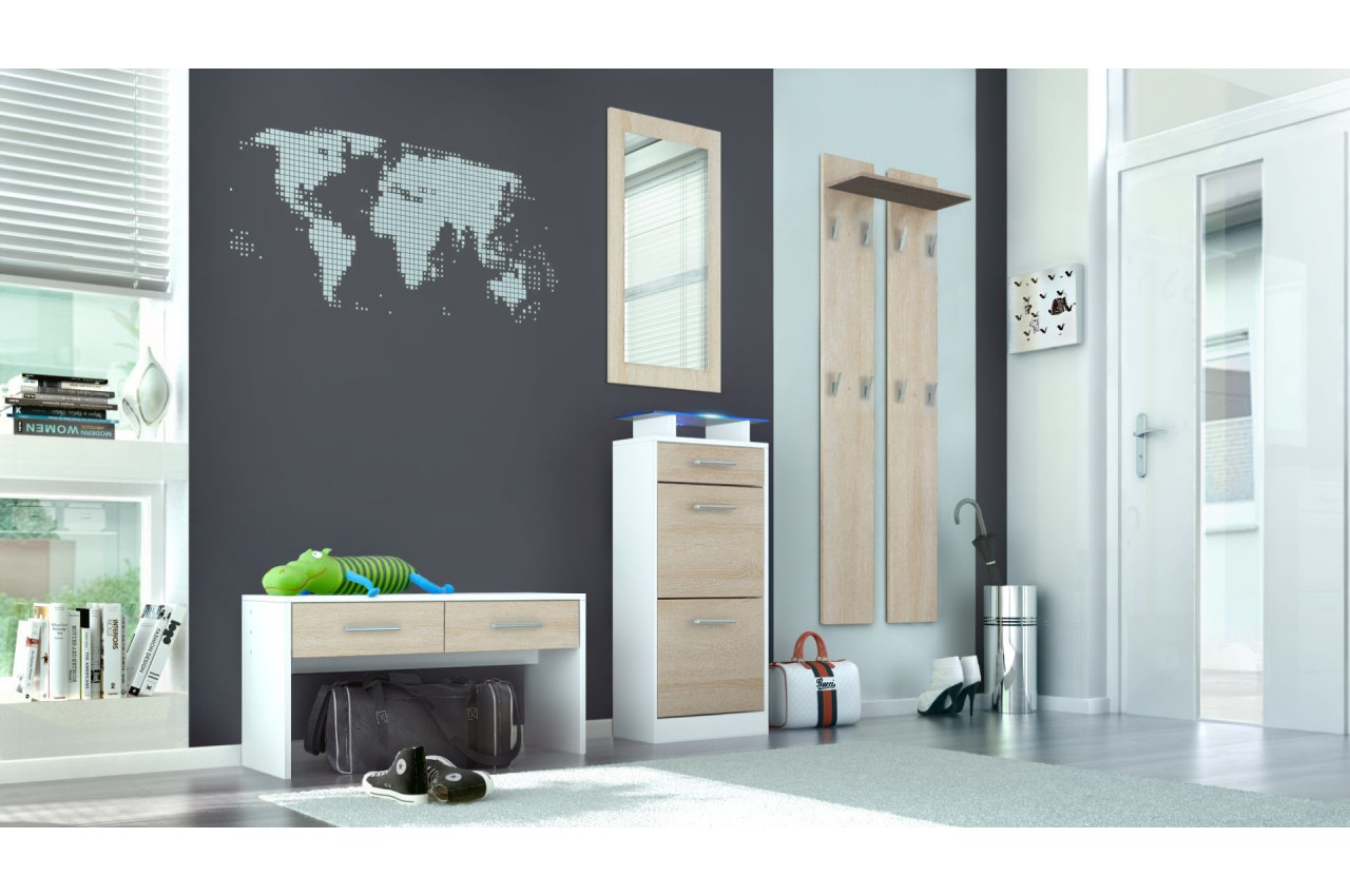 meuble d 39 entr e moderne novomeuble. Black Bedroom Furniture Sets. Home Design Ideas