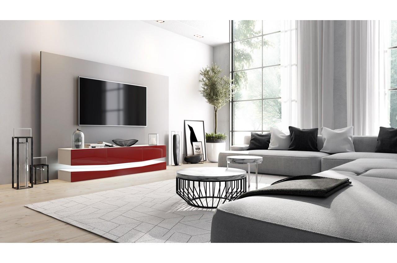 Meuble Tv Suspendu Novomeuble # Meuble Design Tv Suspendu