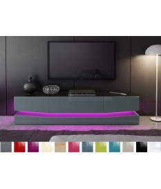 Meuble tv design led