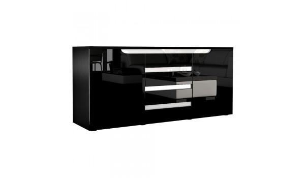 Buffet Salon - Séjour 139 cm 2 portes 4 tiroirs