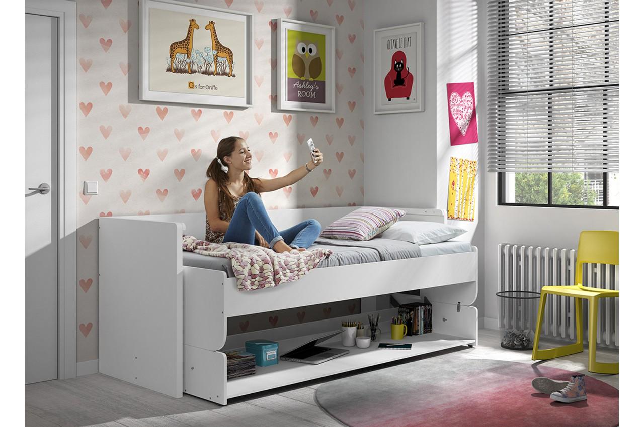 Lit bureau gar on ou fille pour chambre enfant ado Bureau enfant garcon