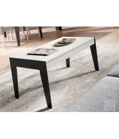 Table Basse Rectangulaire en Bois Relevable