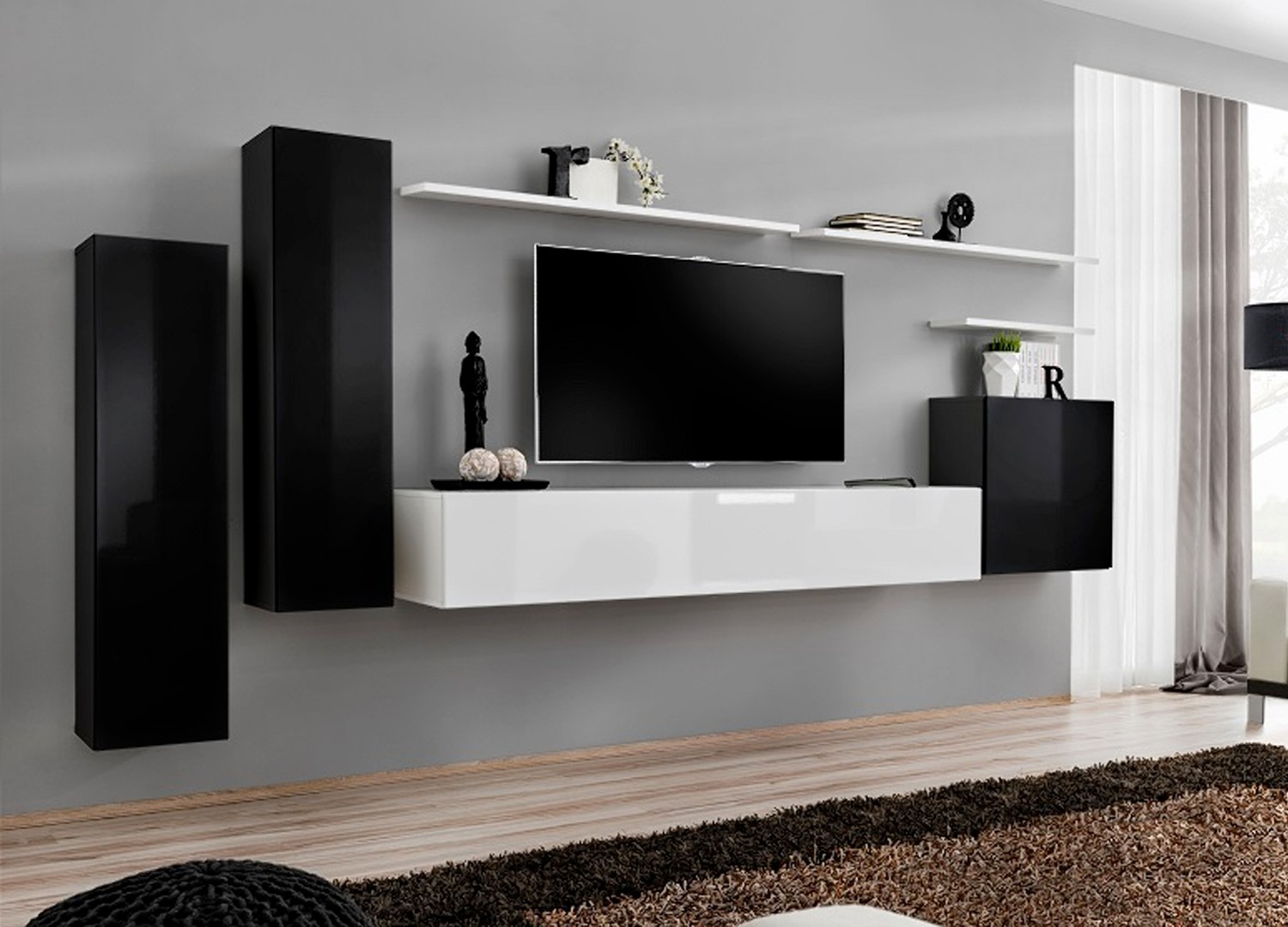 etagere murale sous tv latest etagere murale sous tv with etagere murale sous tv best ensemble. Black Bedroom Furniture Sets. Home Design Ideas