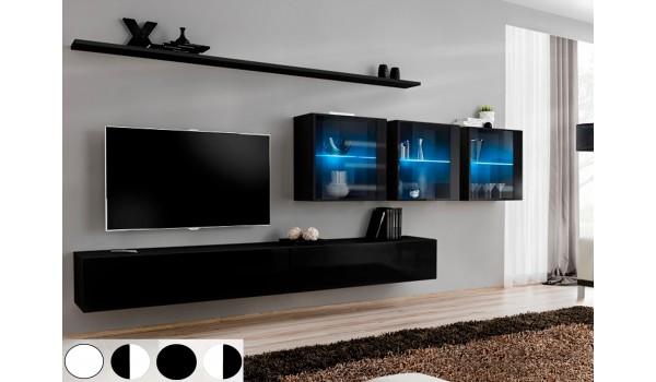 Meuble Mural TV Design Laqué