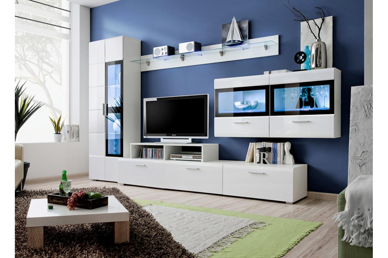 Ensemble Tv Mural Design Novomeuble # Ensemble Mural Design