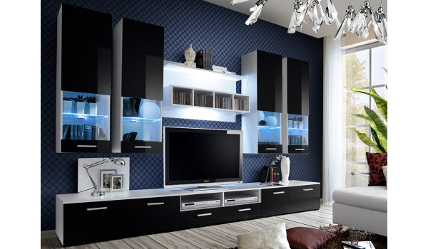 meuble tv design led 3m novomeuble. Black Bedroom Furniture Sets. Home Design Ideas