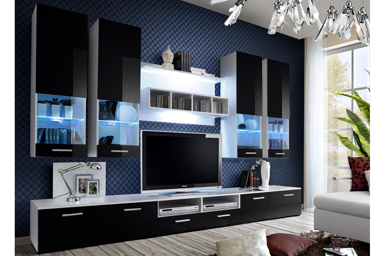 meuble tv design led 3m pour salon. Black Bedroom Furniture Sets. Home Design Ideas