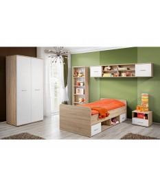 Chambre à Coucher Enfant Bois & Blanc