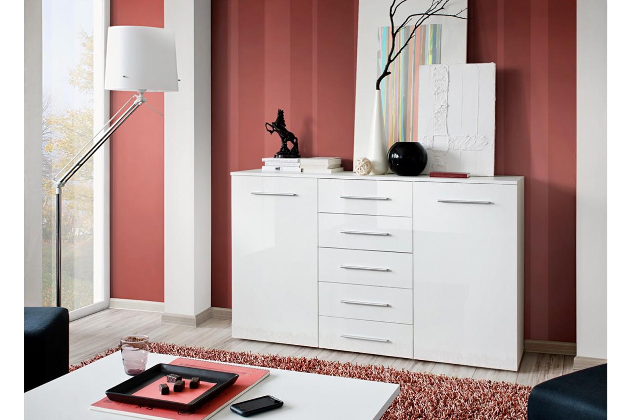 buffet pas cher blanc pour salle manger. Black Bedroom Furniture Sets. Home Design Ideas