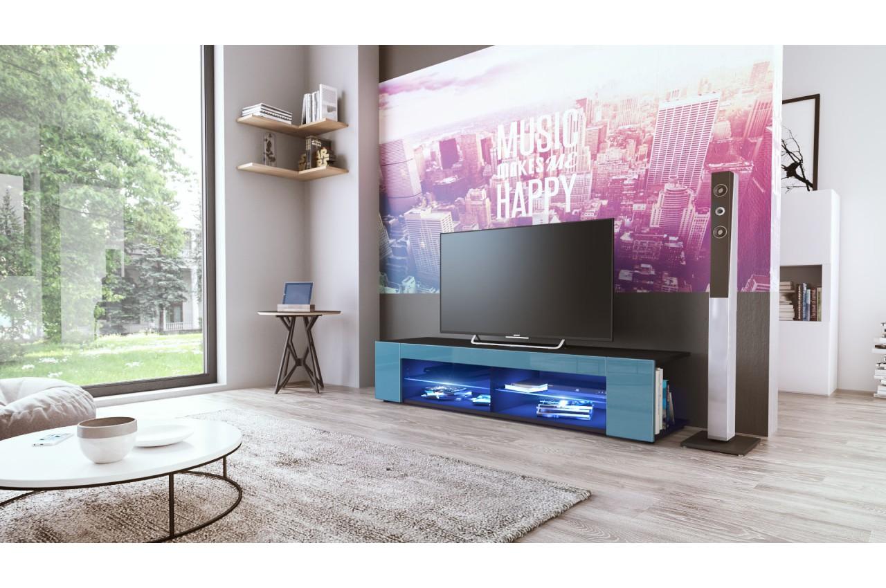 meuble tv bas pas cher pour salon. Black Bedroom Furniture Sets. Home Design Ideas