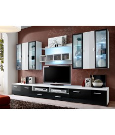 meuble tv mural livraison gratuite et rapide novomeuble. Black Bedroom Furniture Sets. Home Design Ideas