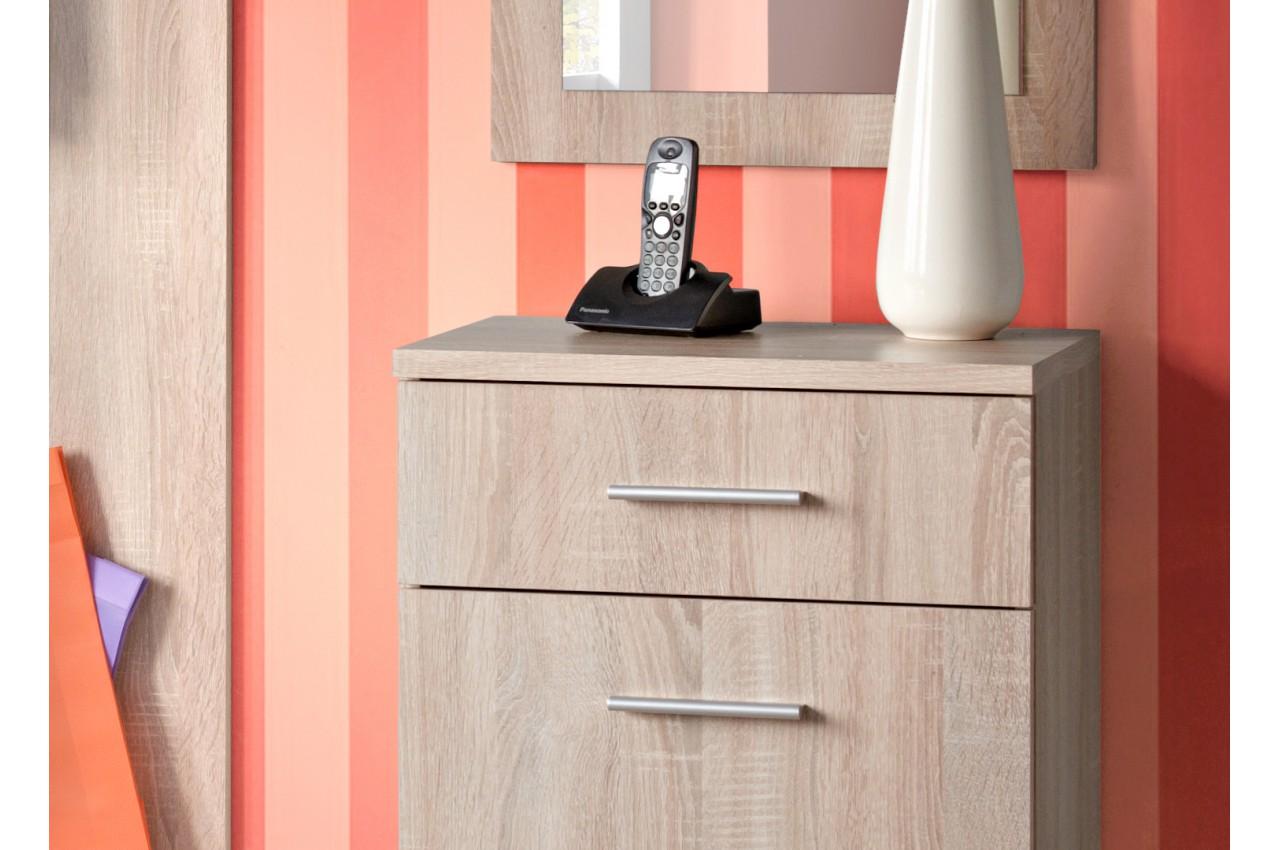 meuble d 39 entr e pas cher rangement vestiaire miroir. Black Bedroom Furniture Sets. Home Design Ideas